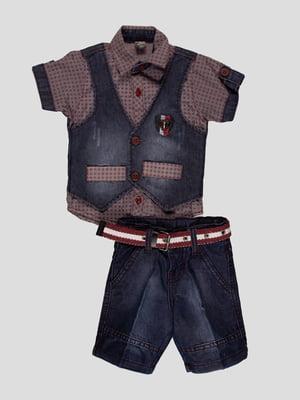 Комплект: сорочка і шорти | 4400009