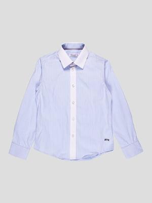 Сорочка блакитна | 4413022