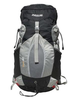Рюкзак черно-серый | 4418944