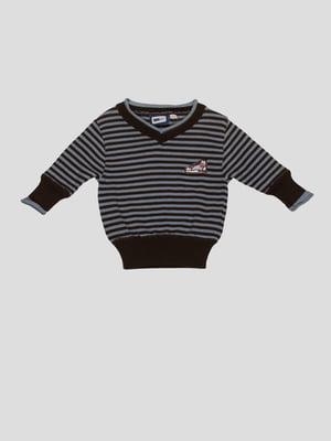Пуловер в смужку | 4396995