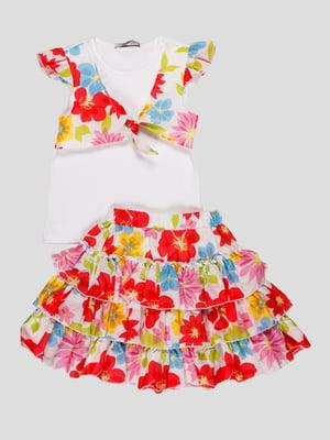 Комплект: блуза і спідниця | 4397638