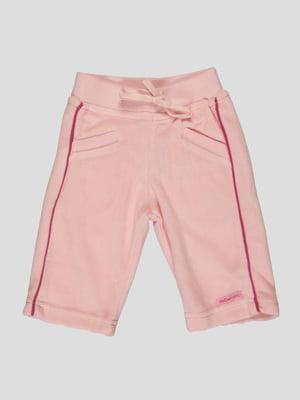 Штани рожеві з вишивкою | 91998
