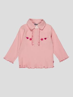 Джемпер рожевий з вишивкою | 4396361