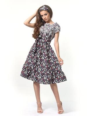 Сукня в квітковий принт | 4418791
