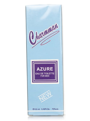 Туалетная вода для мужчин Charmman Azure (100 мл) | 4307812
