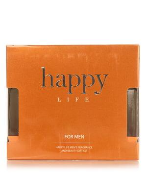 Парфюмированный набор для мужчин Happy life: туалетная вода (90 мл) и лосьон после бритья (90 мл) | 4308076