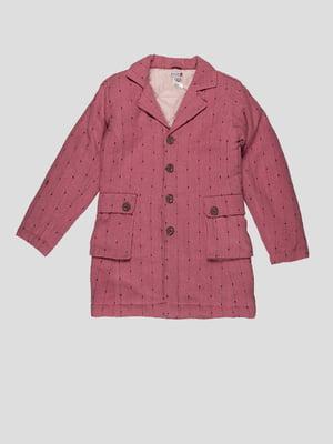 Пальто розовое | 4396281
