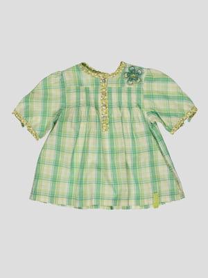 Блуза клетчатая   4396905