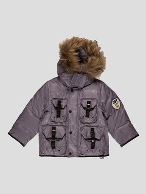 Куртка сіра | 4397285