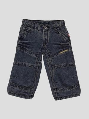 Бриджі сині джинсові | 1725446