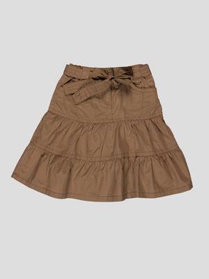 Юбка темно-песочного цвета | 1693023