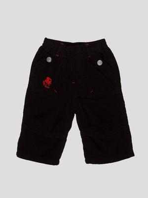 Штани чорні з вишивкою | 4396794