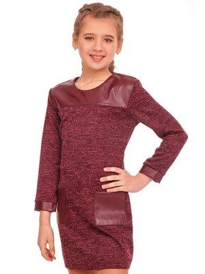 Платье бордовое - Tashkan - 4419907