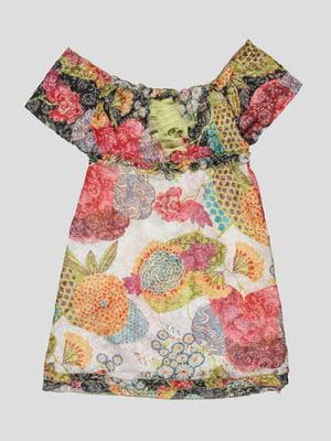 Сукня в квітковий принт | 4417611