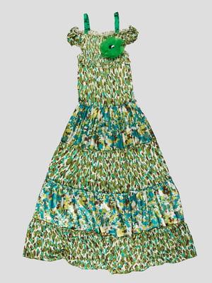 Сукня камуфляжного  забарвлення | 1001726