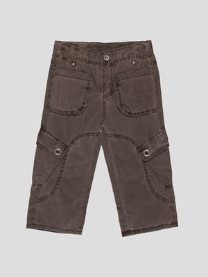 Штани коричневі | 35081