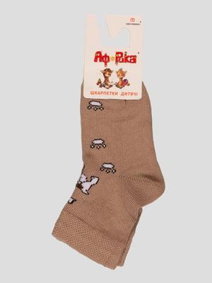 Шкарпетки бежеві   3630879