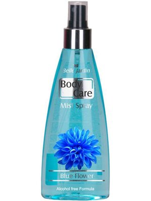 Парфумований спрей для тіла Body Care Blue Flower - квітковий блакитний (180 мл) | 4429012