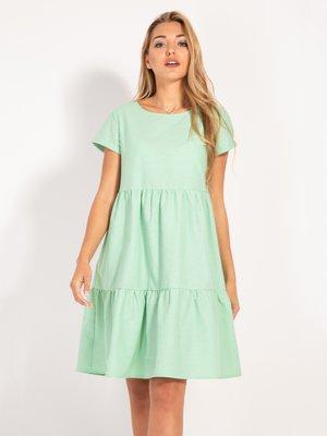 Платье мятного цвета | 4409073