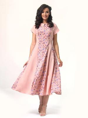 Платье розовое | 4429019