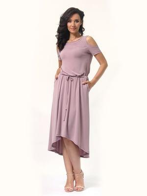 Платье сиреневое | 4429029