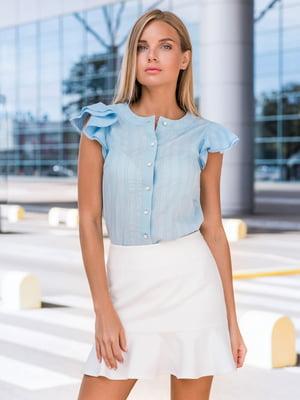 Блуза блакитна   4422701