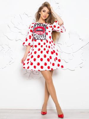 Сукня-туніка в принт | 4430098