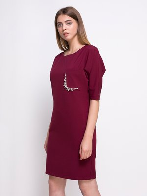 Сукня бордова   4427648