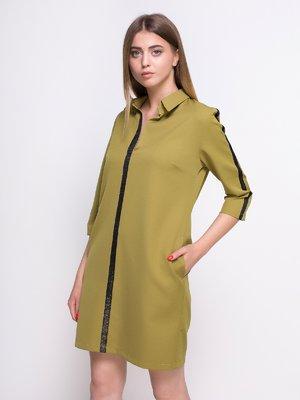 Сукня гірчичного кольору   4427627