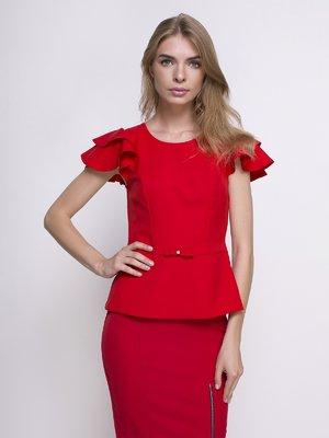 Блуза червона | 4427554