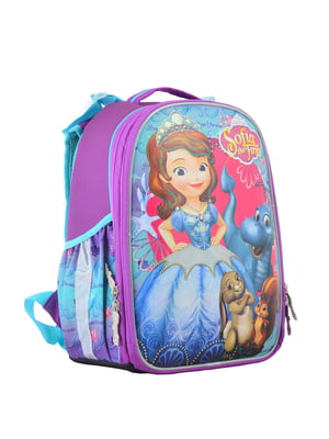 Рюкзак двоколірний з принтом | 4440424