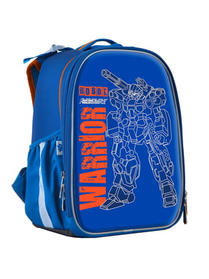 Рюкзак синій з принтом | 4440427