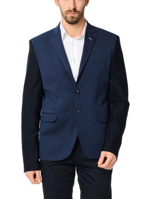 Піджак синій | 2101647