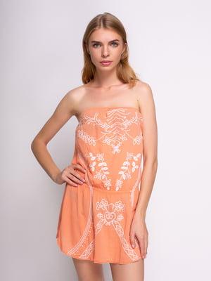 Платье в принт | 3011430