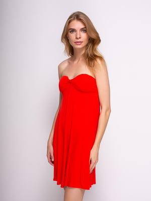 Платье красное | 3011424