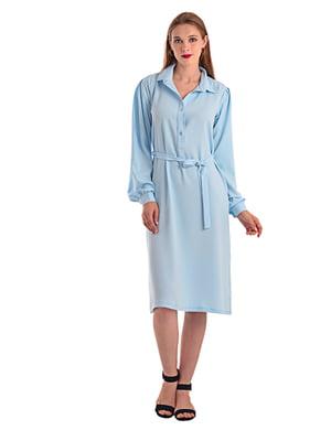 Сукня блакитна   4441748