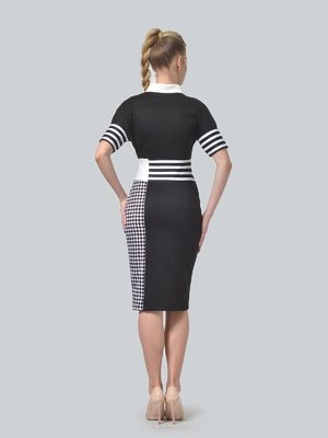 Сукня чорно-біла | 4409817