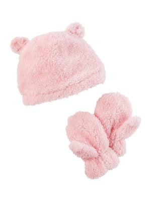 Комплект: шапка и варежки | 4443428