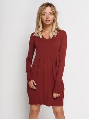 Платье кирпичного цвета | 2931398