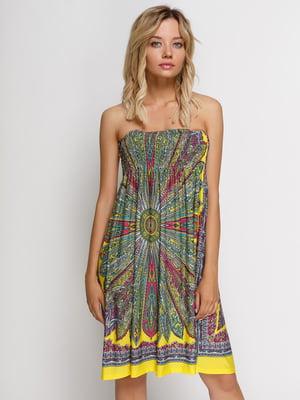 Платье в принт | 4166266
