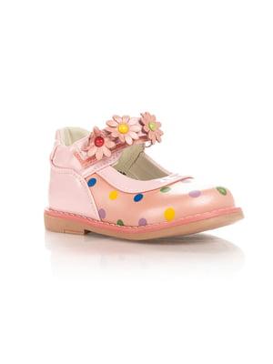 Туфлі рожеві в горошок | 4407898