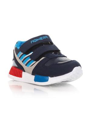 Кроссовки темно-синие   4412425