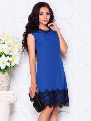 Платье цвета электрик | 4444585