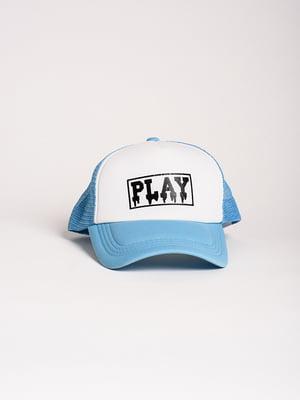 Бейсболка блакитна   4298609