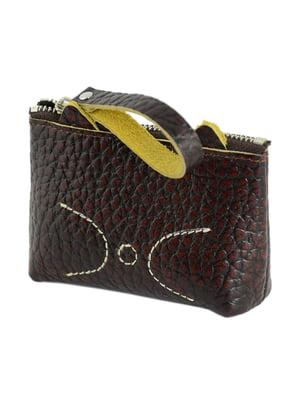 Мини-кошелек коричневый | 4446171