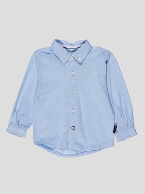 Рубашка голубая | 4397163