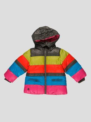 Куртка різнокольорова | 4397583