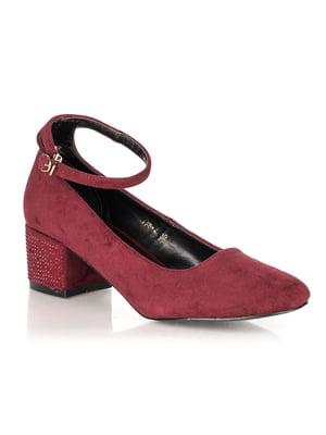 Туфли бордовые | 4445709
