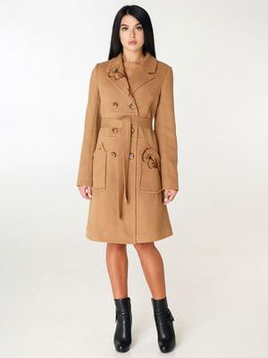 Пальто бежевое | 4450232