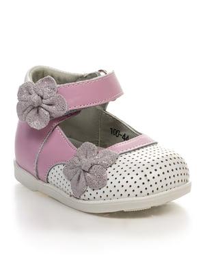 Туфлі рожево-білі | 4409152